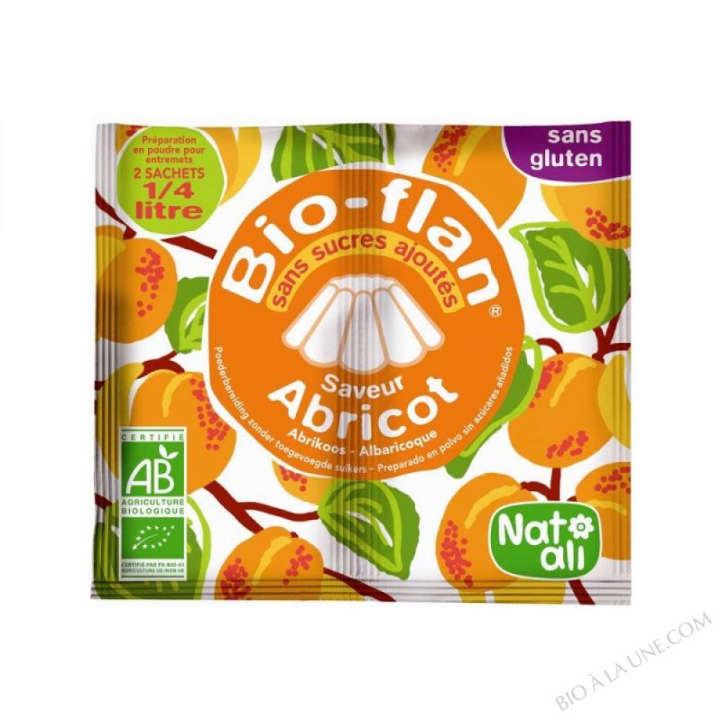 Bioflan Abricot sans sucre 8g