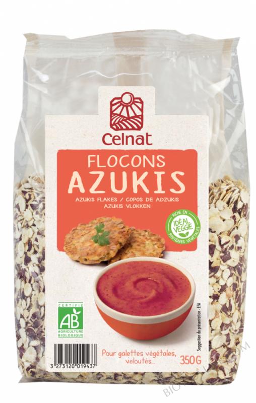CELNAT Flocons d'Azukis BIO - 350g