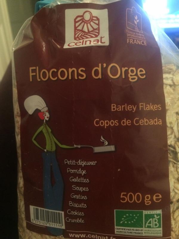CELNAT Flocons d'Orge BIO - 500g