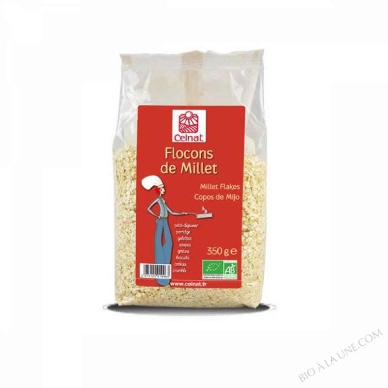 CELNAT Flocons de Millet BIO - 500g