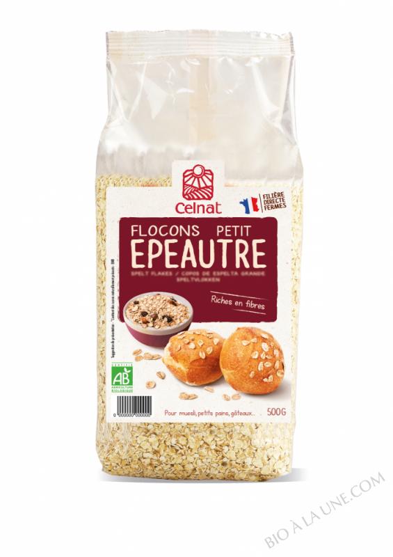 CELNAT Flocons de Petit Epeautre BIO - 500g