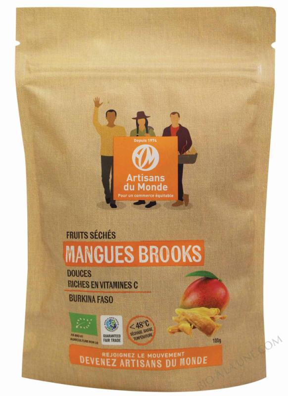 Mangues Brooks séchées - 100g