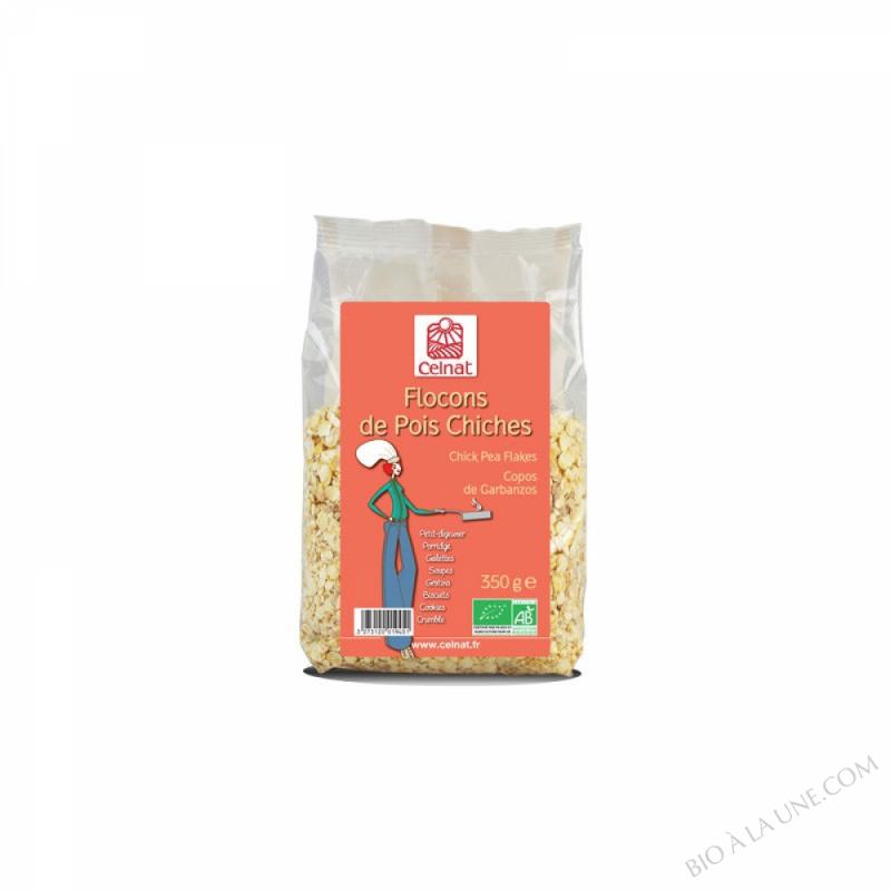 CELNAT Flocons de Pois Chiches BIO - 350g