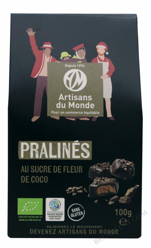 PRALINÉS AU SUCRE DE COCO BIO - 100 G