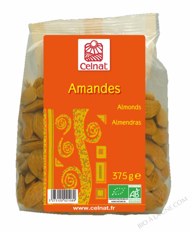 CELNAT Amandes BIO - 375g