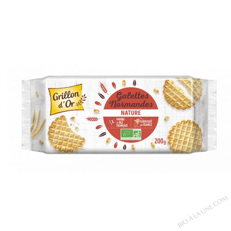 GALETTES NORMANDES BIO 200G