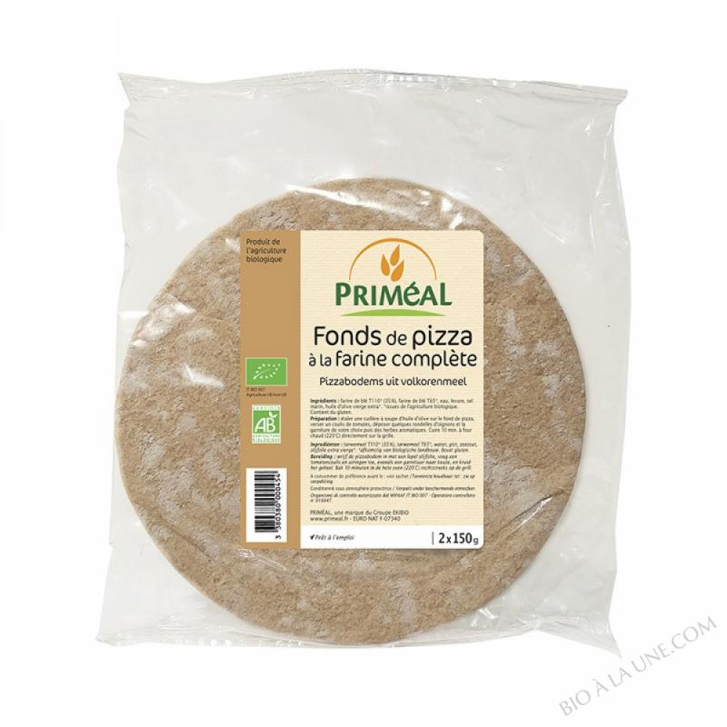 FOND DE PIZZA FARINE COMPLETE