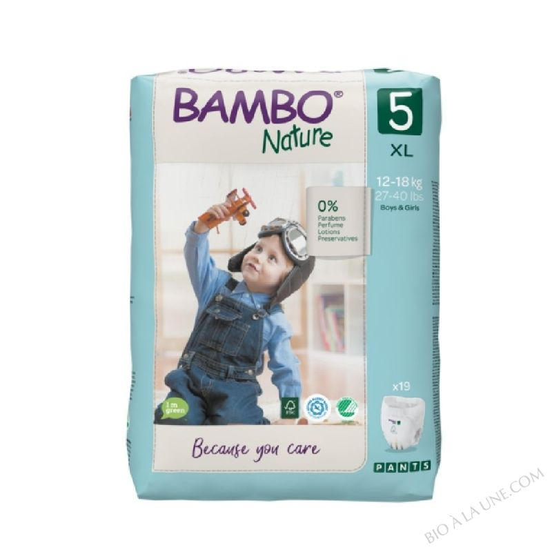 BAMBO PANTS XL-PLUS - 18 KG+ T6