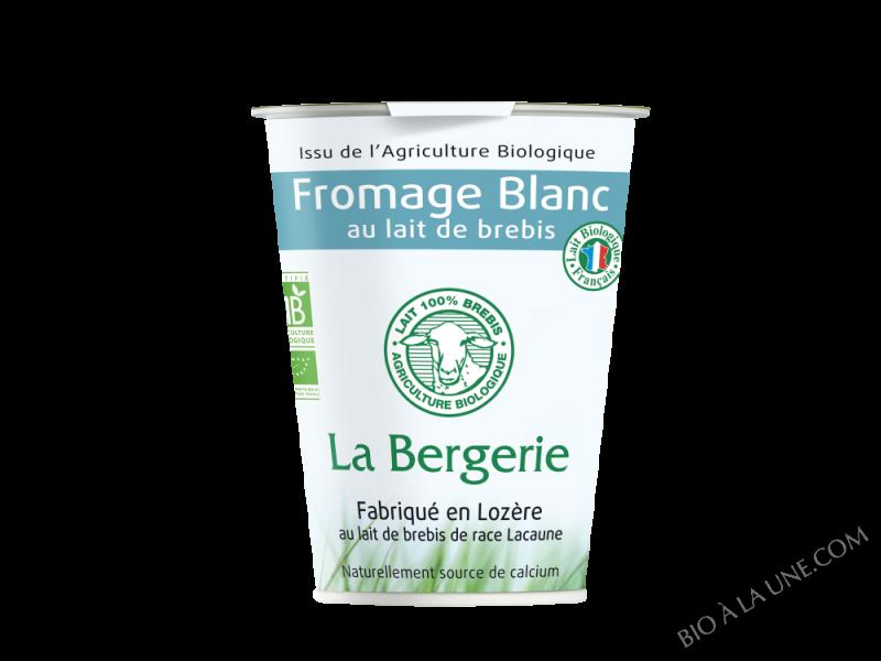 FROMAGE BLANC DE BREBIS NATURE 400G LA BERGERIE