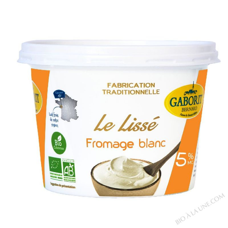 FROM. BLC LISSE 5% MG 500G GABO
