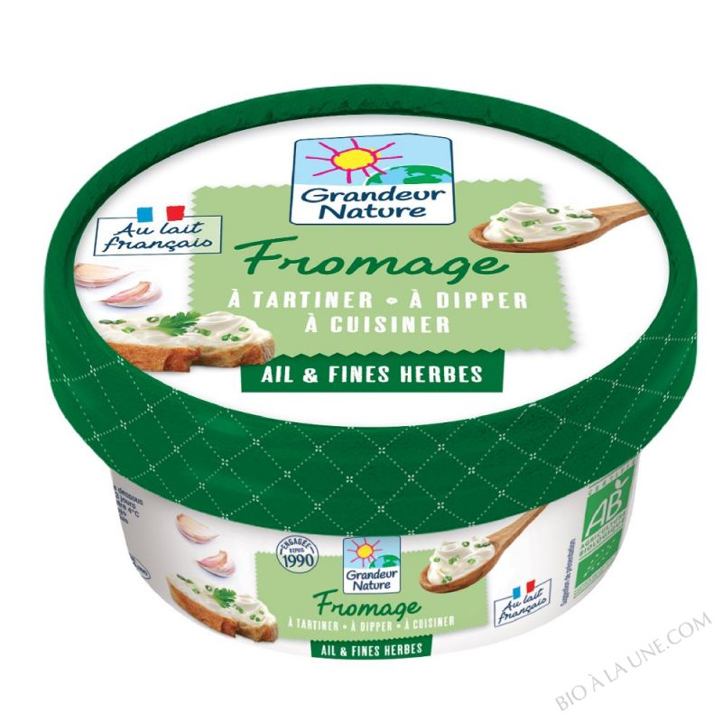 FROMAGE CREME AIL ET HERBES 150G