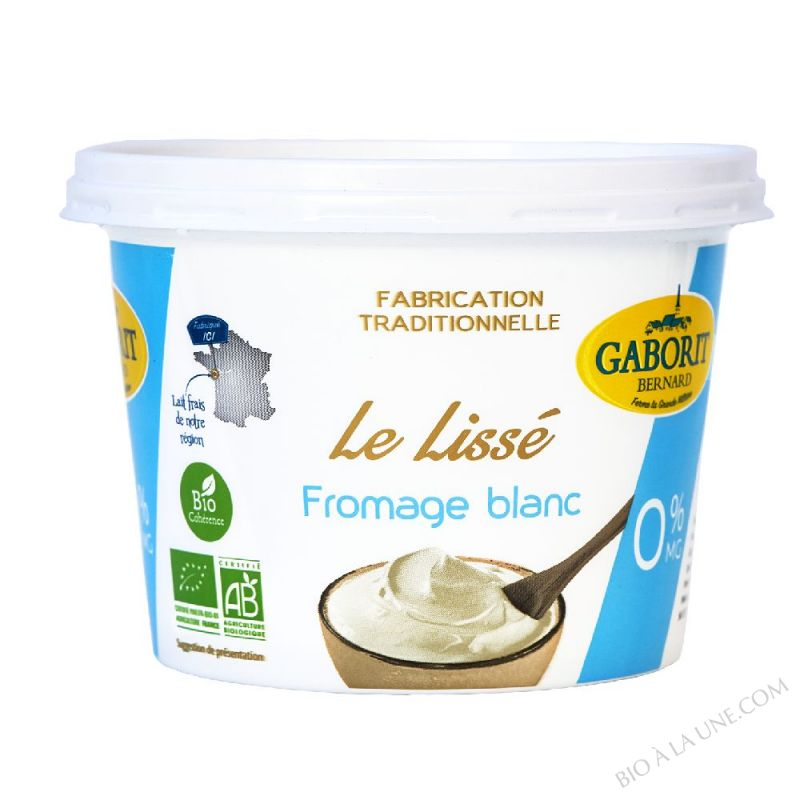 FROM. BLC LISSE 0% MG 500G GABORIT