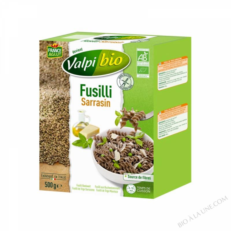 Fusilli Sarrasin Bio 500g