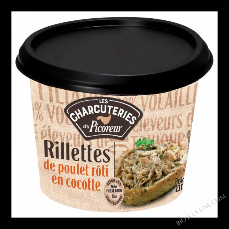 RILLETTES POULET ROTI EN COCOTTE - 220G
