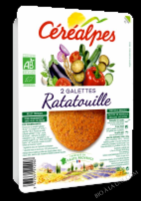 GALETTES RATATOUILLE - 2 X 100 G
