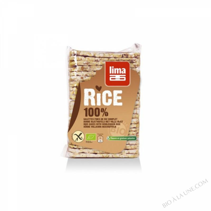 Galettes fines de riz complet 130g