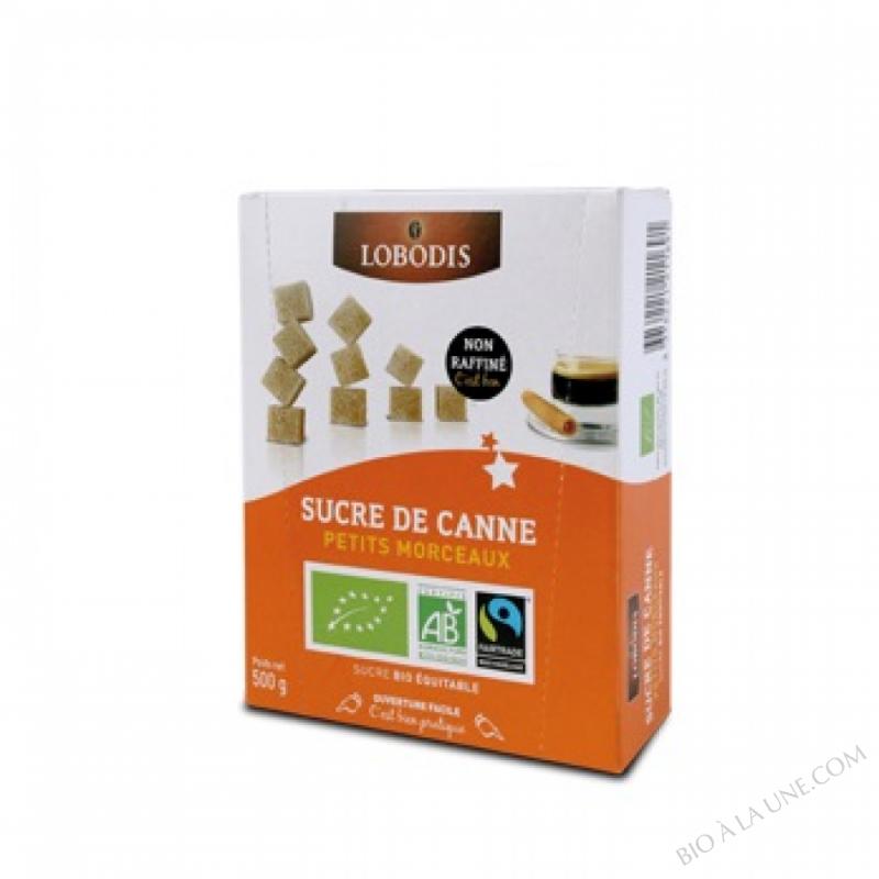 Sucre De Canne Petits Morceaux Bio - Lobodis - 500G