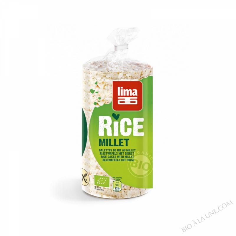 Galettes de Riz Millet 100g