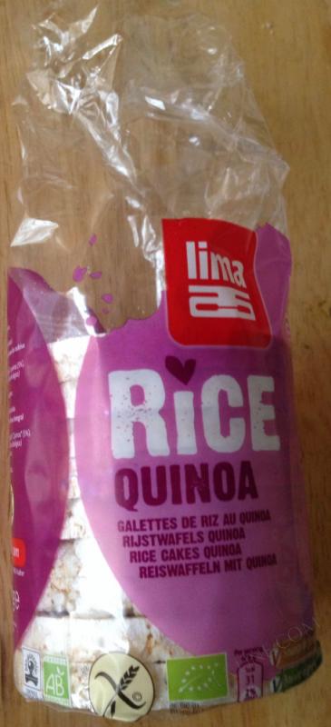 Galettes de Riz Quinoa 100g