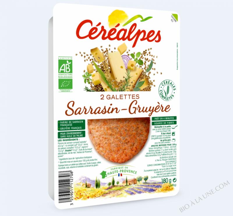 GALETTES SARRASIN-GRUYÈRE - 2 X 100 G