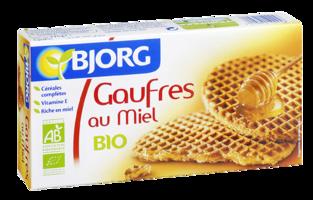 Gaufres au miel bio - Bjorg