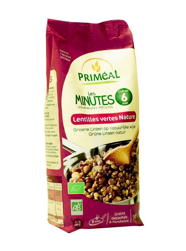 Lentilles vertes - Les Minutes