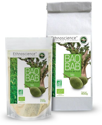 Baobab poudre de fuit bio