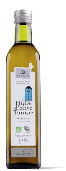 Huile d'olive bio Tunisie