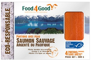 Saumon sauvage MSC