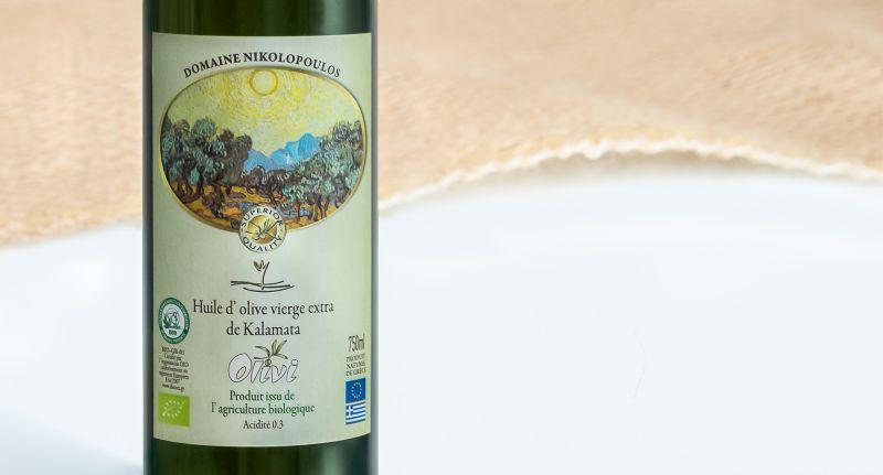 Huile d'olive de Kalamata