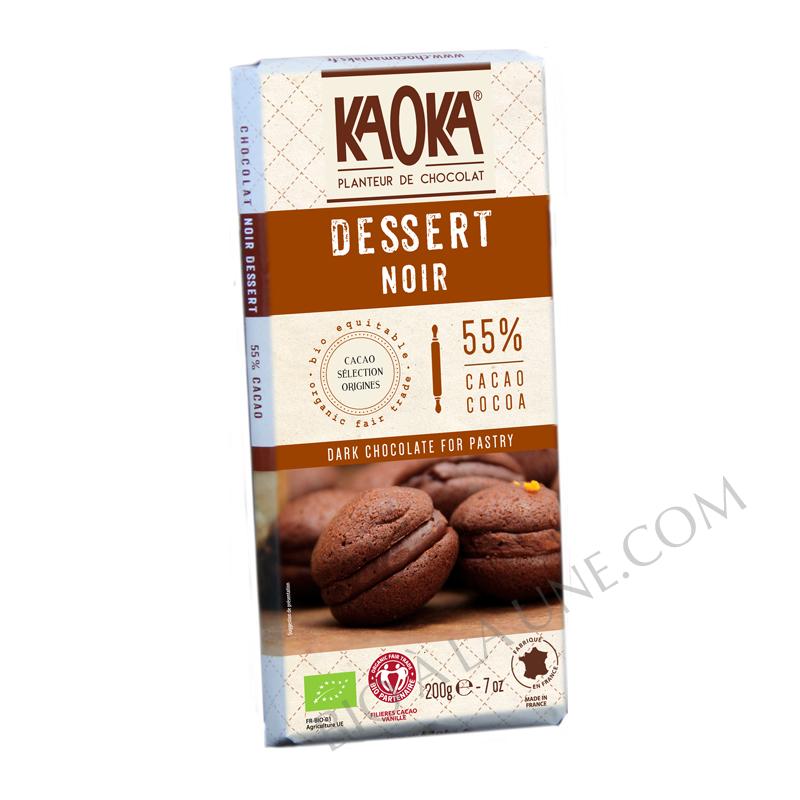 Chocolat DESSERT Noir 55% - KAOKA