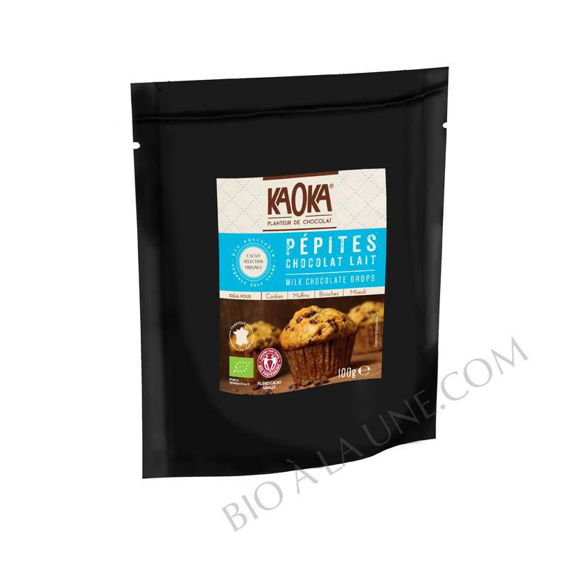 Pépites de Chocolat au Lait - KAOKA