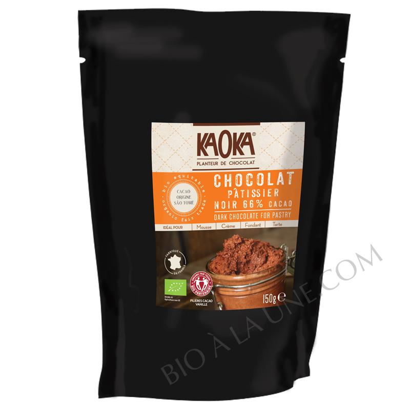 Palets de Chocolat Noir 66% (pure origine São Tomé) - KAOKA