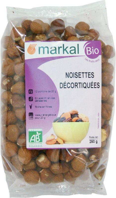 Noisettes décortiquées - Markal