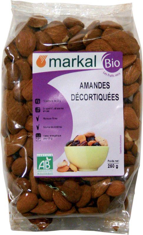 Amandes décortiquées - Markal