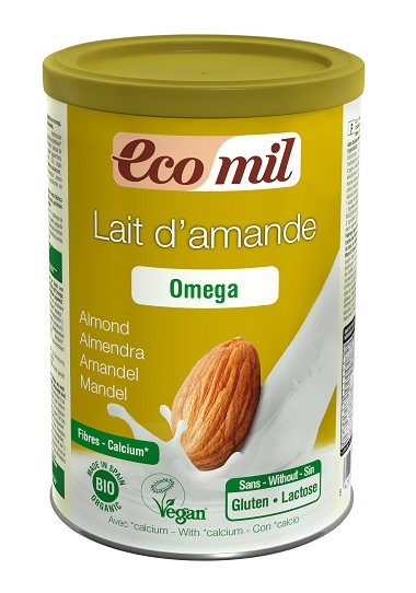 EcoMil Lait d'amande oméga Instant Bio