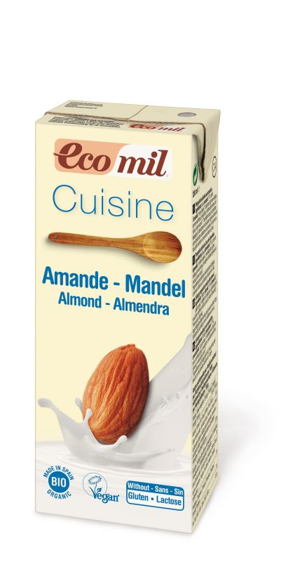 EcoMil Cuisine amande Bio 200 ml