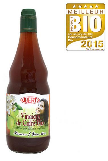 Vinaigre de cidre aux extraits végétaux - MPB 2015