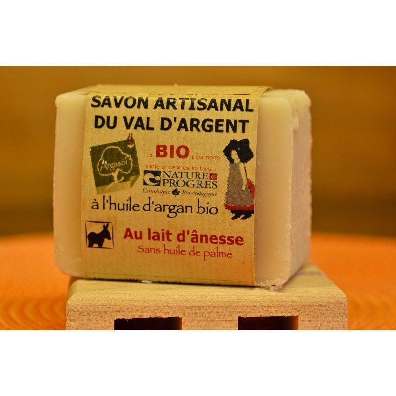Savon artisanal au lait d'ânesse