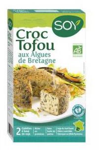 Croc tofou aux algues de Bretagne