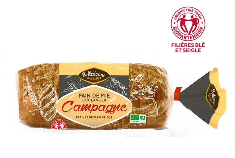 Pain de Mie Boulanger Campagne
