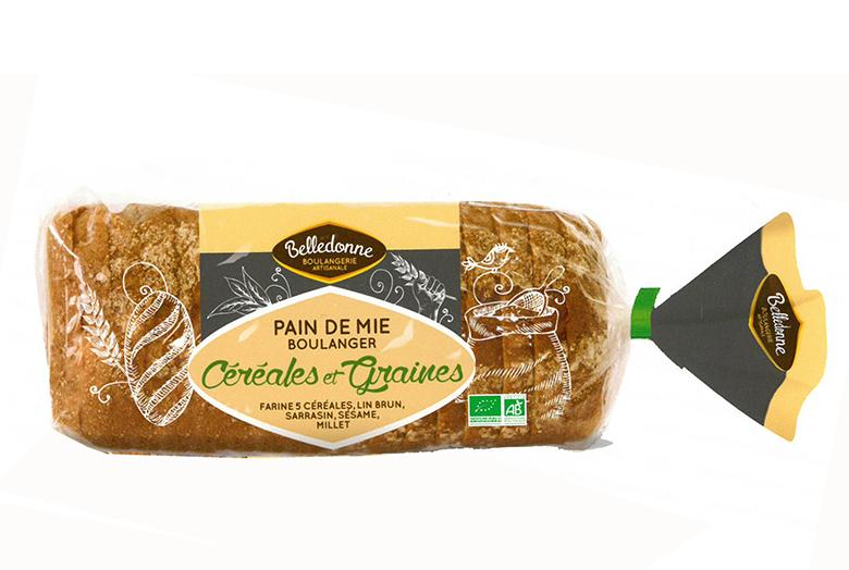 Pain de Mie Boulanger Céréales et Graines