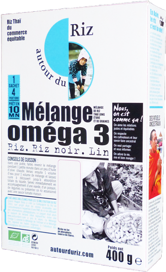 Mélange oméga 3