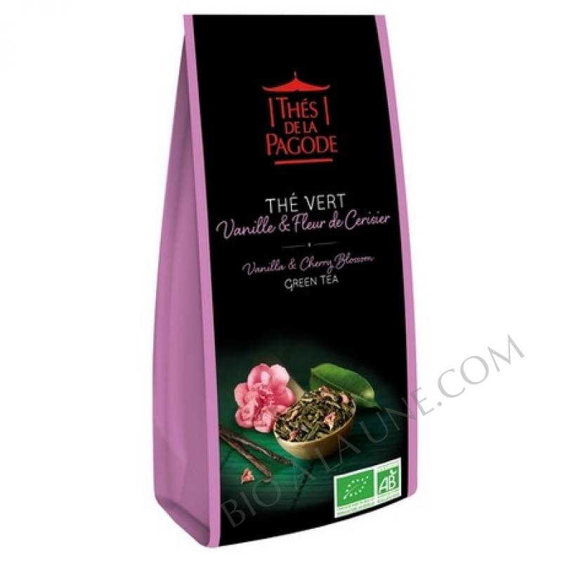 Thé Vert Vanille Fleur de Cerisier