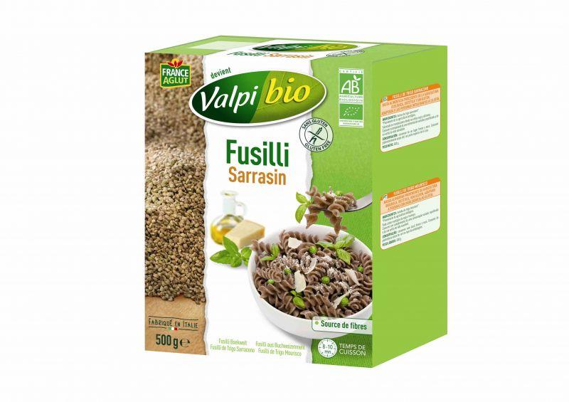 Fusilli Sarrasin Sans Gluten