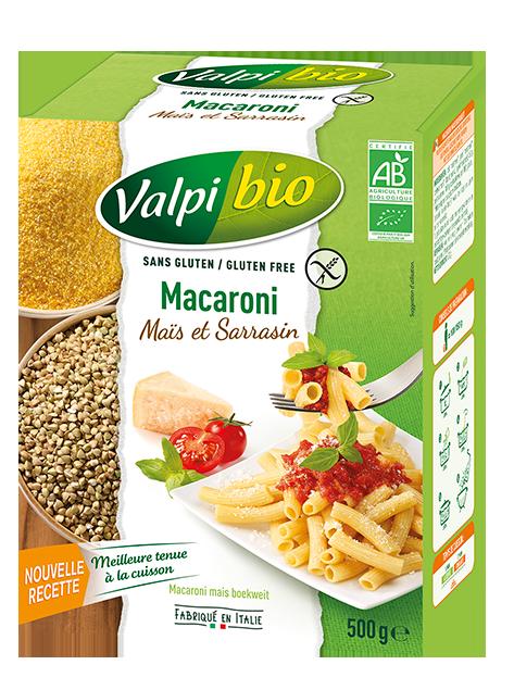 Macaroni Maïs-Sarrasin Sans Gluten