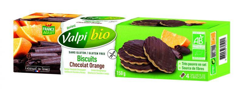 Biscuits Chocolat Orange Sans Gluten