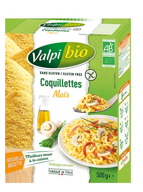 Coquillettes de Maïs Sans Gluten