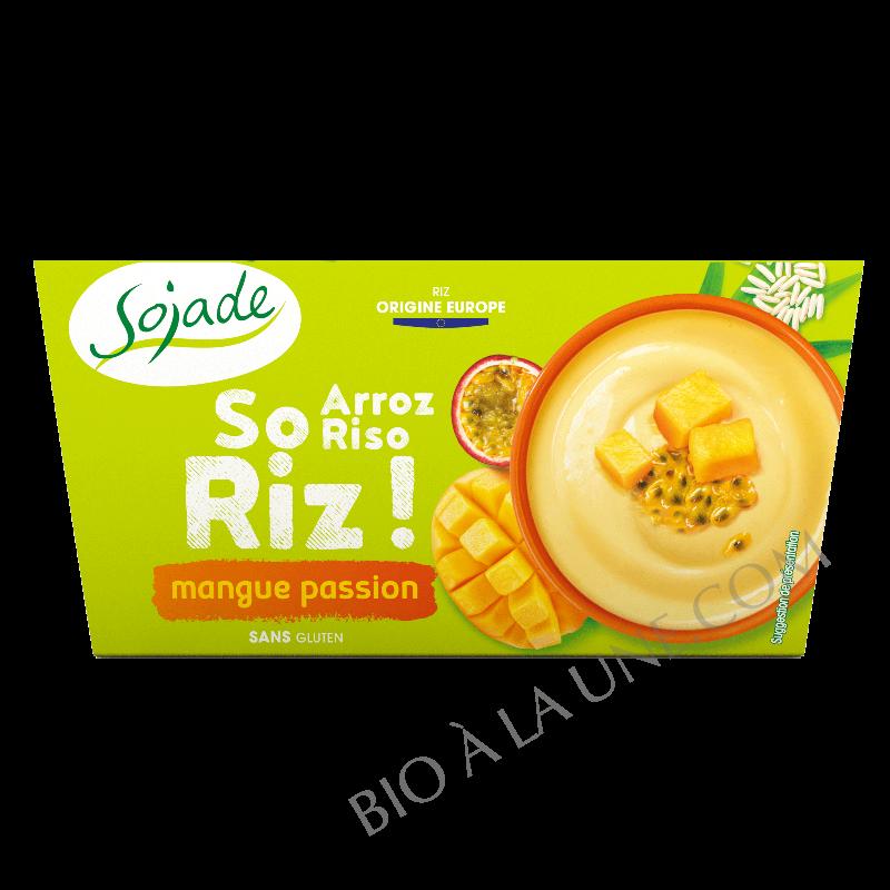 Sojade - Délice de Riz Mangue