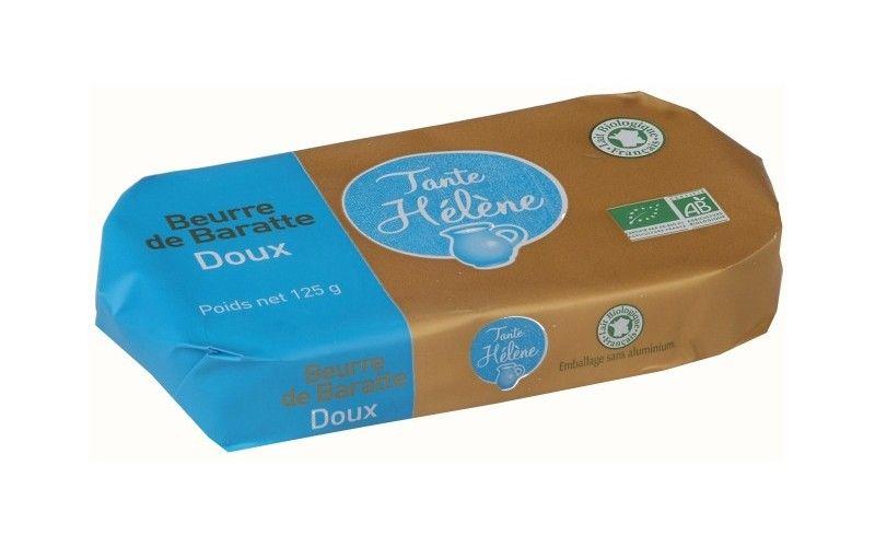 Beurre de Baratte doux 125g
